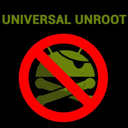Скриншот Universal Unroot для Android