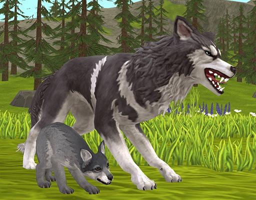 WildCraft: Симулятор Жизни Зверей для Андроид скачать бесплатно