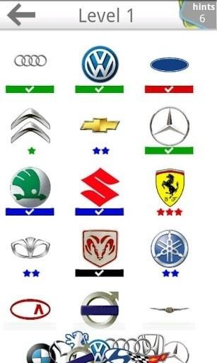 Скриншот Logo Quiz Легковые автомобили для Android