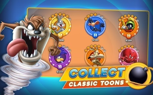 Скриншот Looney Tunes: World of Mayhem для Android