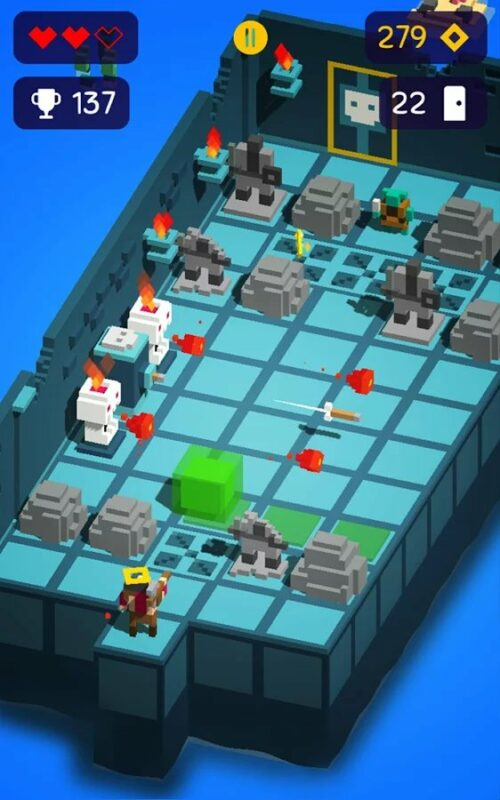 Скриншот Looty Dungeon для Android
