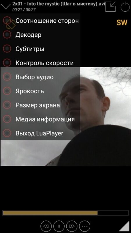 Скриншот Lua Player для Android