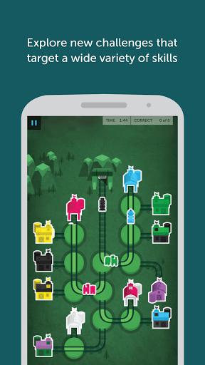 Скриншот Lumosity для Android