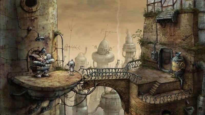 Скриншот Machinarium для Android