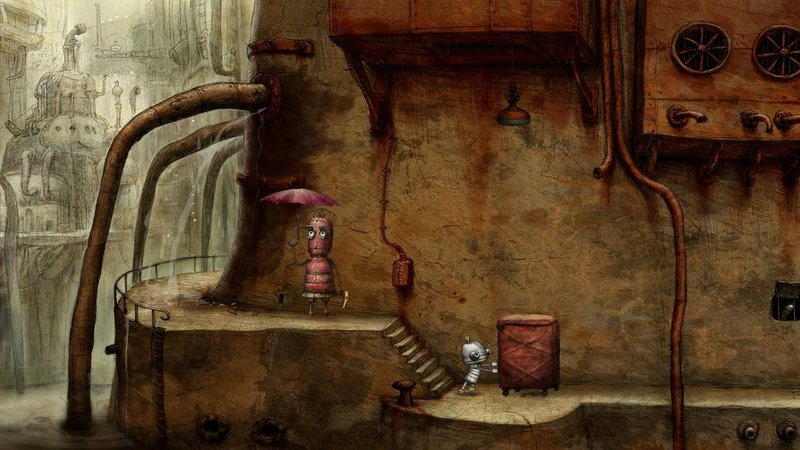 Скриншот Machinarium для Android