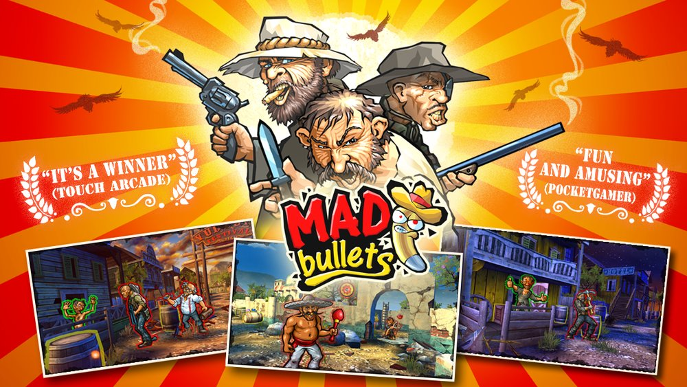 Скриншот Mad Bullets для Android