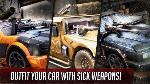 Скриншот Mad Death Race для Android