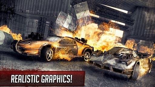 Скриншот Mad Death Race для Android