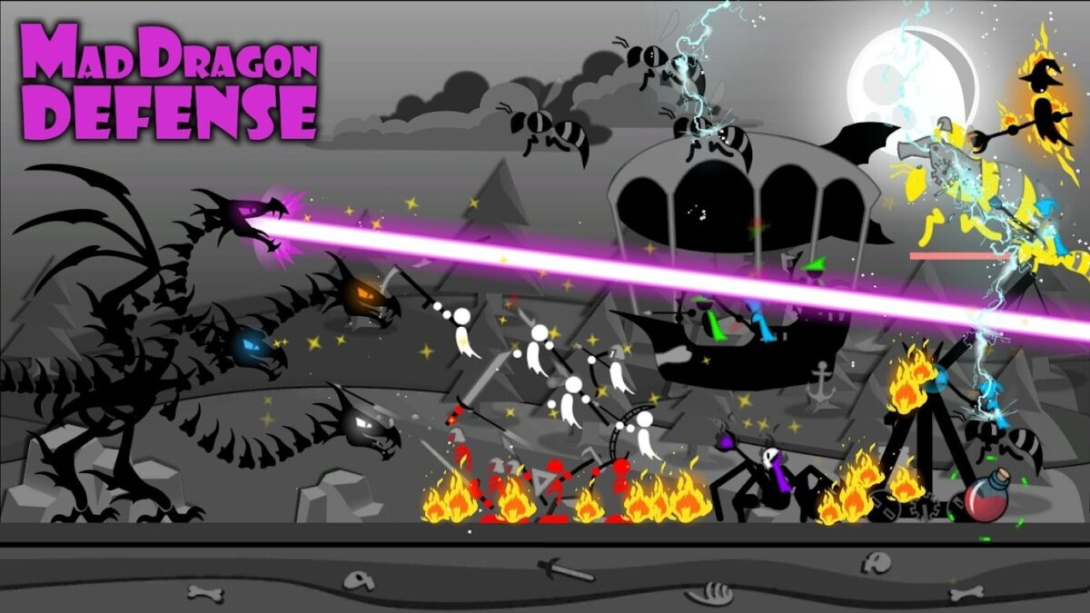 Скриншот Mad Dragon Defense для Android