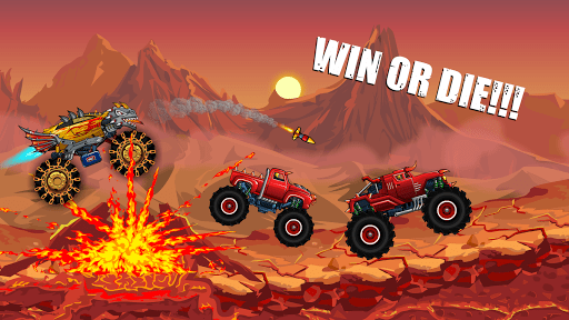 Скриншот Mad Truck Challenge — Racing для Android