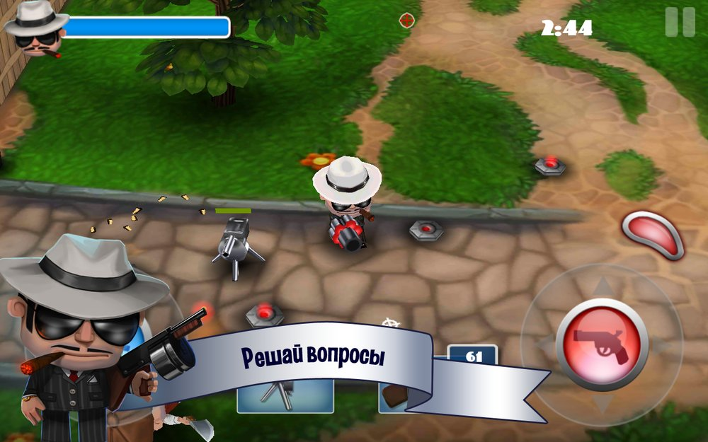 Скриншот Mafia Rush для Android