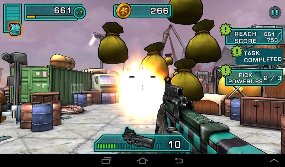 Скриншот Major GUN для Android