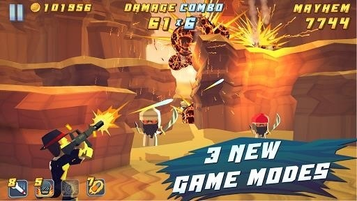 Скриншот Major Mayhem для Android