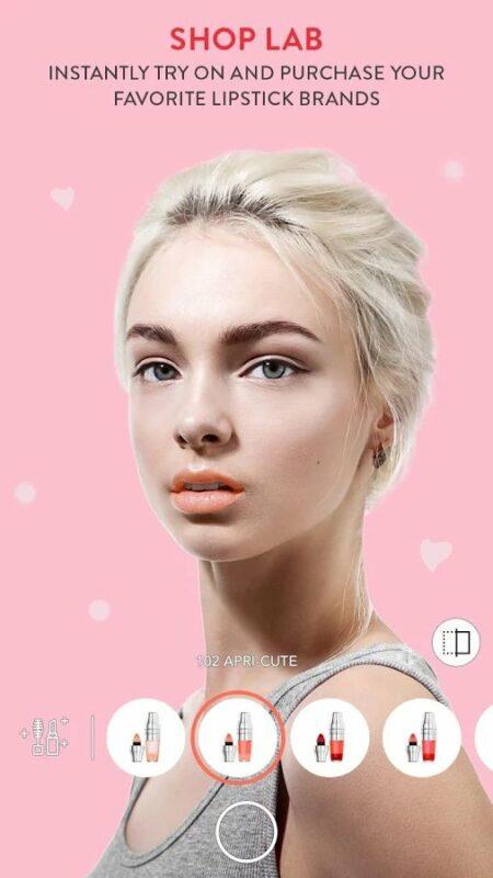 Скриншот MakeupPlus — Makeup Camera для Android