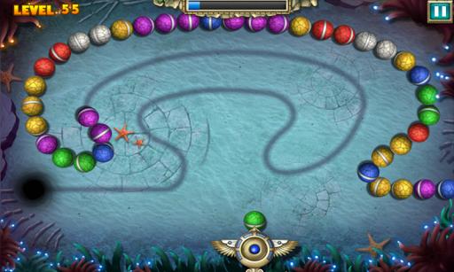Скриншот Marble Legend 2 для Android