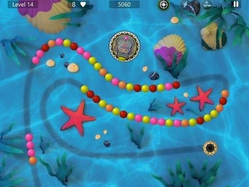 Скриншот Marble Power Blast для Android