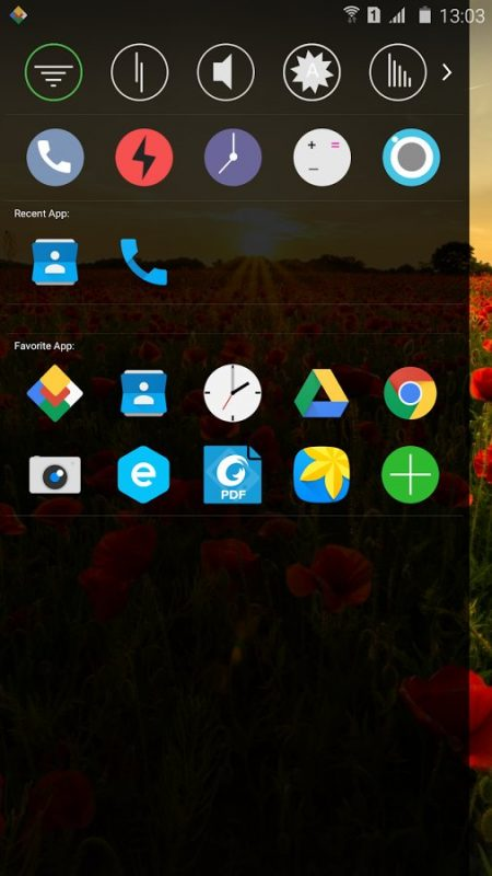 Скриншот Marshmallow Launcher для Android