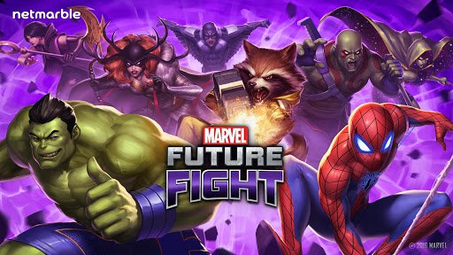 Скриншот MARVEL Future Fight для Android