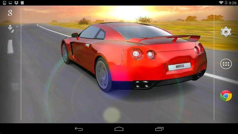 Скриншот Машина 3D для Android
