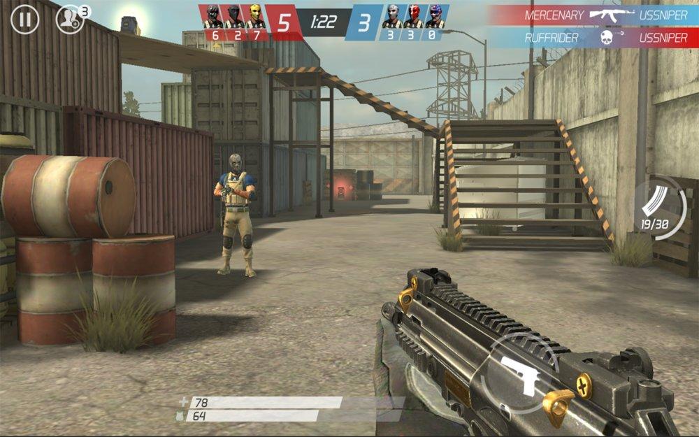 Скриншот MaskGun для Android