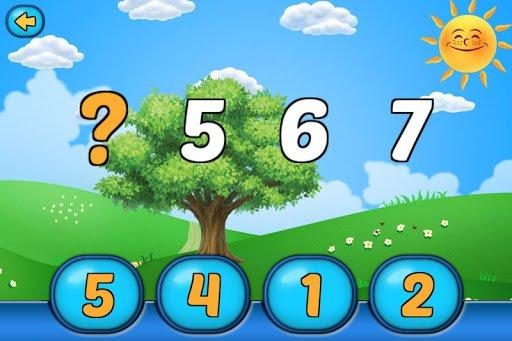 Скриншот Математика для дошкольников для Android