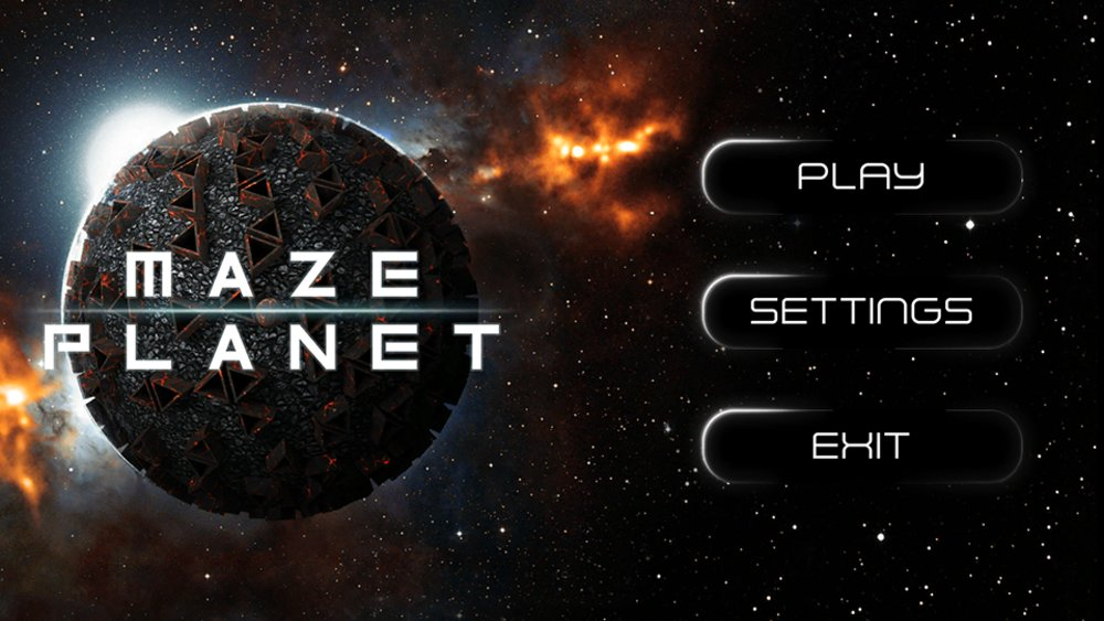 Скриншот Maze Planet 3D 2017 для Android