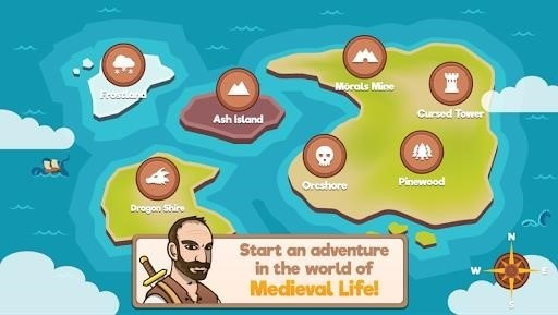 Скриншот Medieval Life для Android