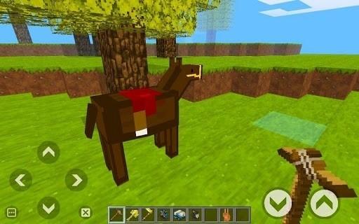 Скриншот Megacraft: Block Story World для Android
