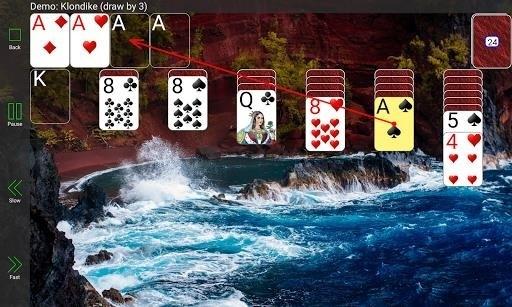 Скриншот Мега-коллекция пасьянсов для Android