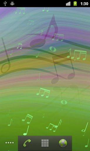 Скриншот Melody Live Wallpaper для Android