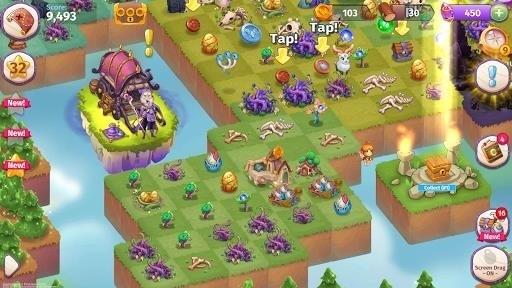 Скриншот Merge Magic для Android