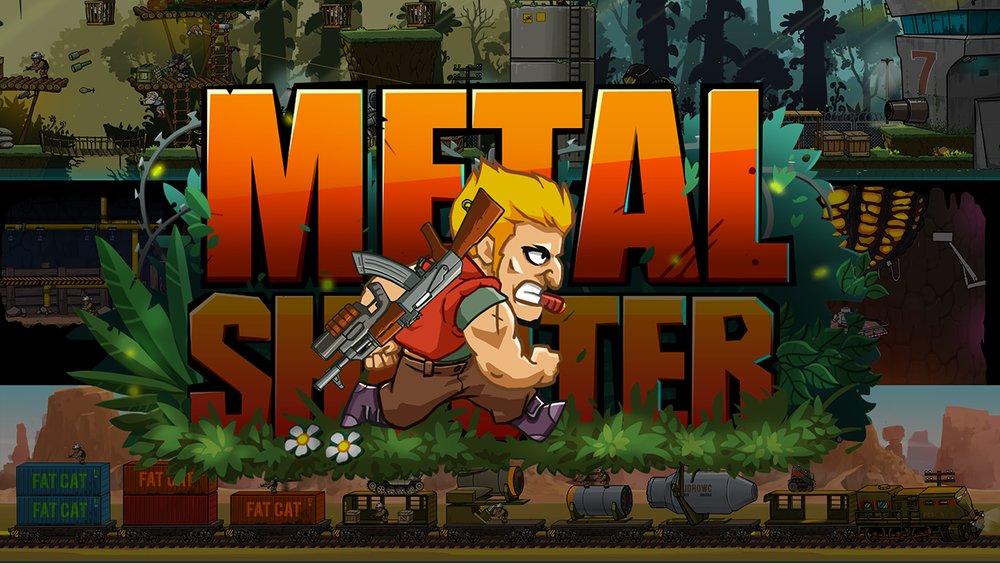 Скриншот Metal Shooter для Android