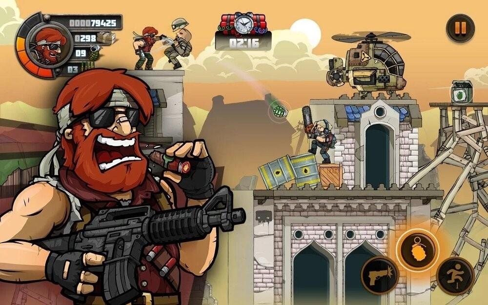 Скриншот Metal Soldiers для Android