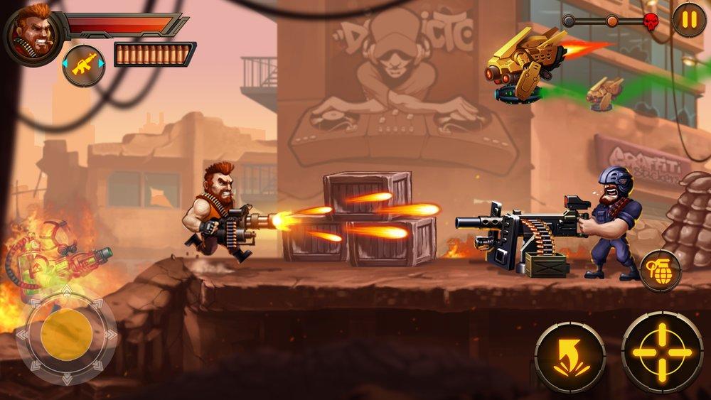 Скриншот Metal Squad для Android