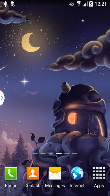 Скриншот Метеоритный Дождь для Android