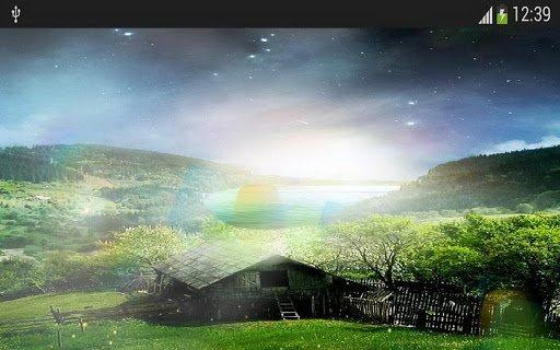 Скриншот Метеоры звезды светлячков для Android
