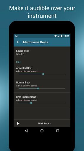 Скриншот Метроном Ударов для Android
