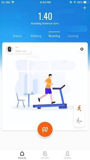 Скриншот Mi Fit для Android