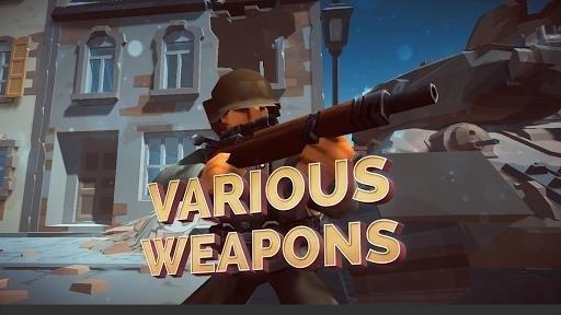 Скриншот Mighty Army: World War 2 для Android