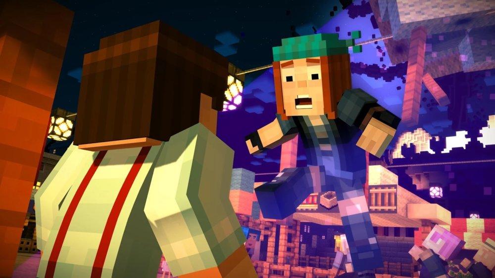 Скриншот Minecraft: Story Mode — Майнкрафт для Android