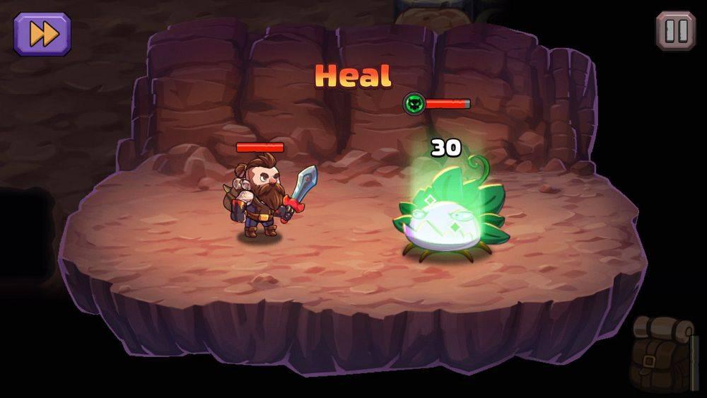 Скриншот Mine Quest 2 для Android