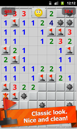 Скриншот Minesweeper Classic (Сапер) для Android