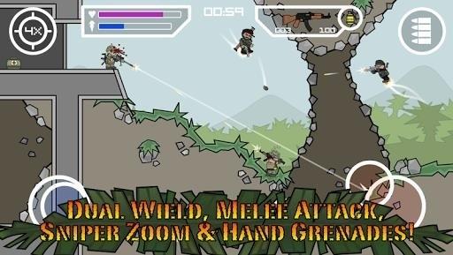 Скриншот Mini Army для Android
