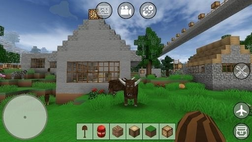 Скриншот Mini Block Craft для Android