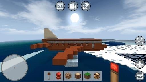 Скриншот Mini Block Craft для Android