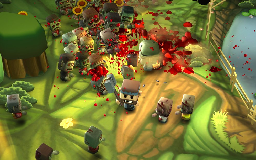 Скриншот Minigore 2: Zombies для Android