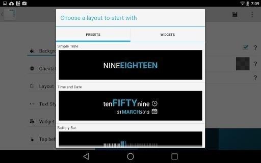 Скриншот Minimalistic Text для Android