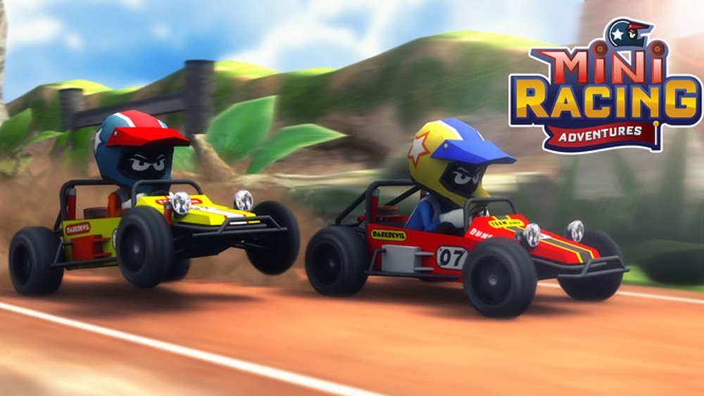 Скриншот Mini Racing Adventures для Android