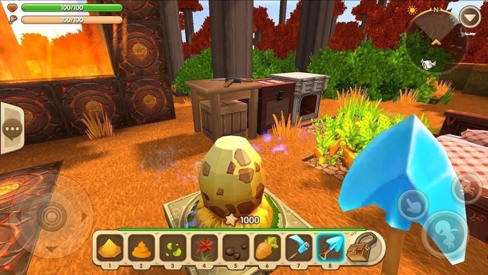 Скриншот Mini World: Block Art для Android