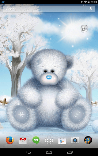 Скриншот Мишка Тедди. Рождество Lite для Android